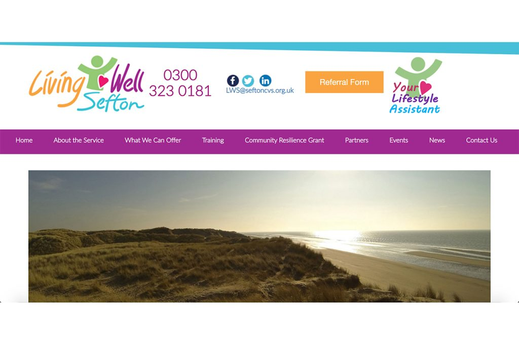 Living Well Sefton Website Now Live!